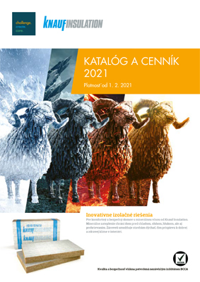 Knauf Insulation - cenník 2021 |